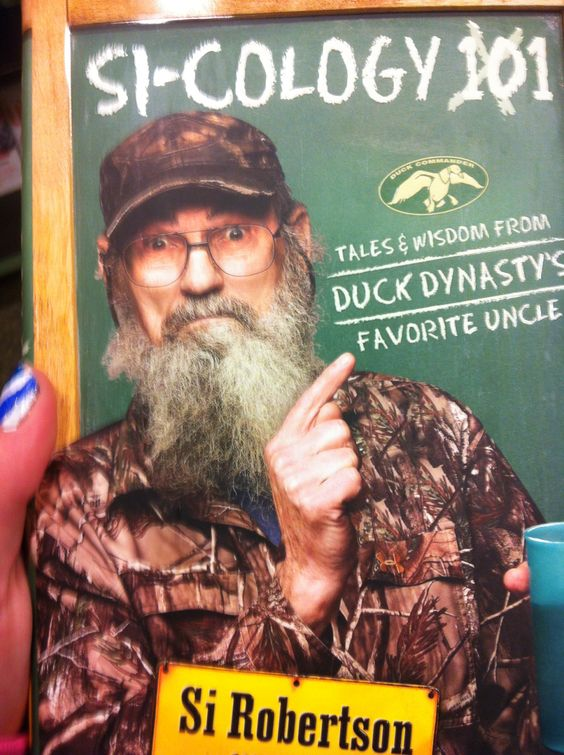 Si-cology Duck Dynasty Book!!