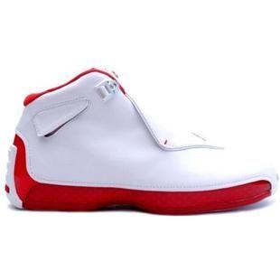 www.asneakers4u.com 305869 161 Air Jordan 18 Original OG White Varsity Red A21006