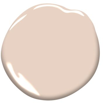 Blush pink paint color for walls. Coastal Cottage 116. 10 Romantic Tranquil Pink Paint Colors & Pretty Finds!