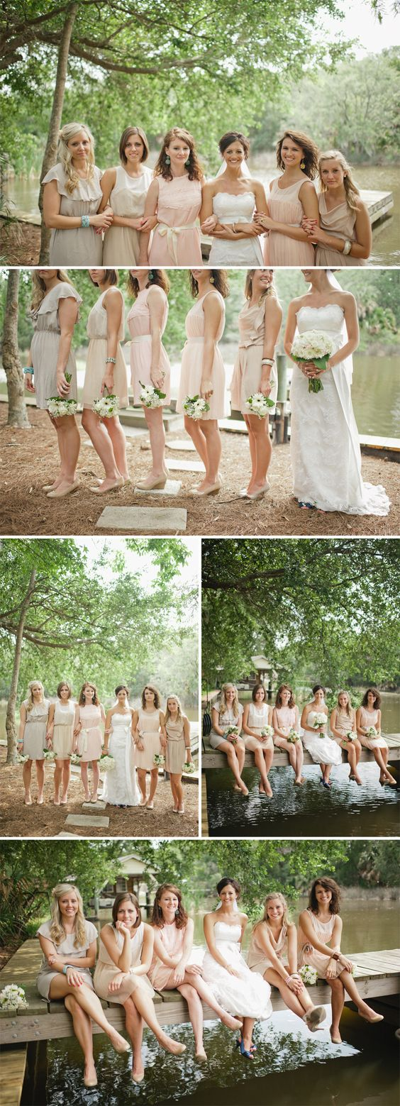 Beautiful neutral colors for a simple wedding the for Beautiful neutral paint colors