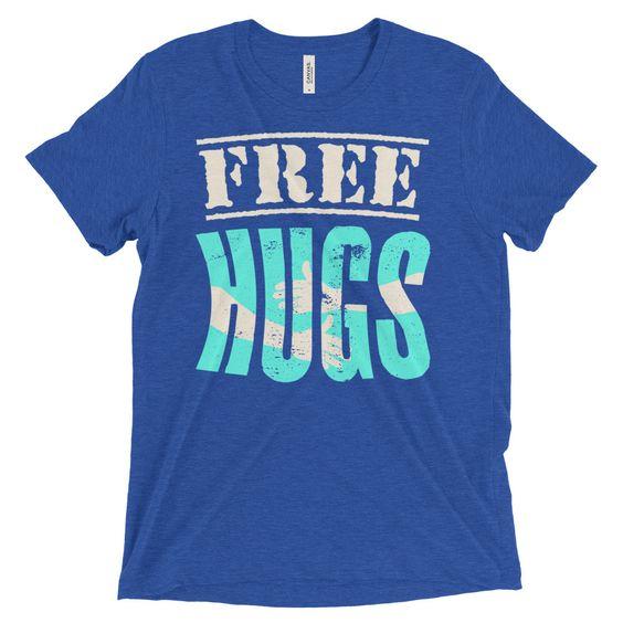Free HUGS t shirt Short sleeve t-shirt