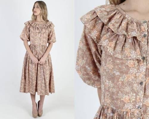 Vintage Boho Dresses Uk