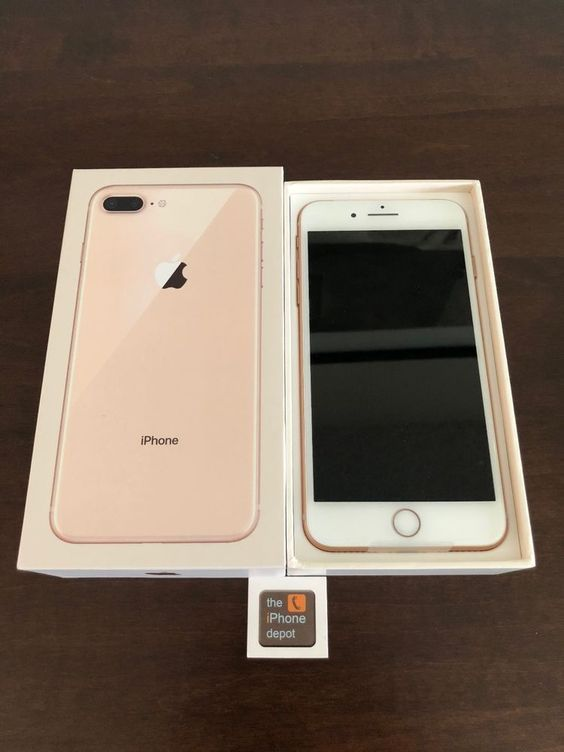 Apple Iphone 8 Plus 256gb Gold Iphone 8 Plus Apple Iphone Produk Apple