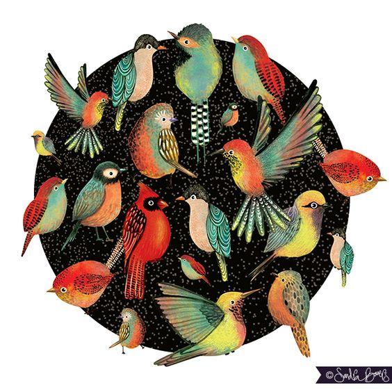 BIRDS- Bird Circle