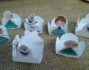 Forminhas para doces Frozen