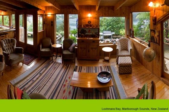 Titoki Beautiful waterfront beach house in Lochmara Bay, Queen Charlotte Sound | Bookabach