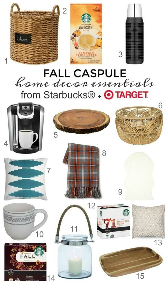 Fall capsule cozy home d cor essentials fall capsule home and home decor Target fall home decor
