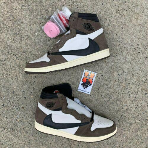 Details About 2019 Nike Air Jordan 1 Travis Scott High Cactus