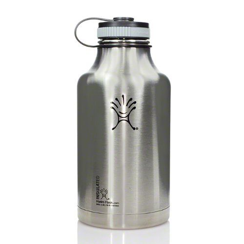 Hydro Flask 64oz Wide Mouth Stainless Steel Growler Stainless * Details can be found by clicking on the image.