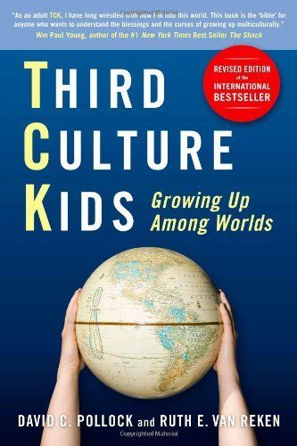 THIRD CULTURE KIDS: GROWING UP AMONG WORLDS (Revised Edition) by David C. Pollock & Ruth Van Reken: This is THE book to read to understand expat kids. The 3rd edition is expanded from the two previous editions. http://www.amazon.com/dp/1857885252/ref=cm_sw_r_pi_dp_wdUUqb13P7KA5