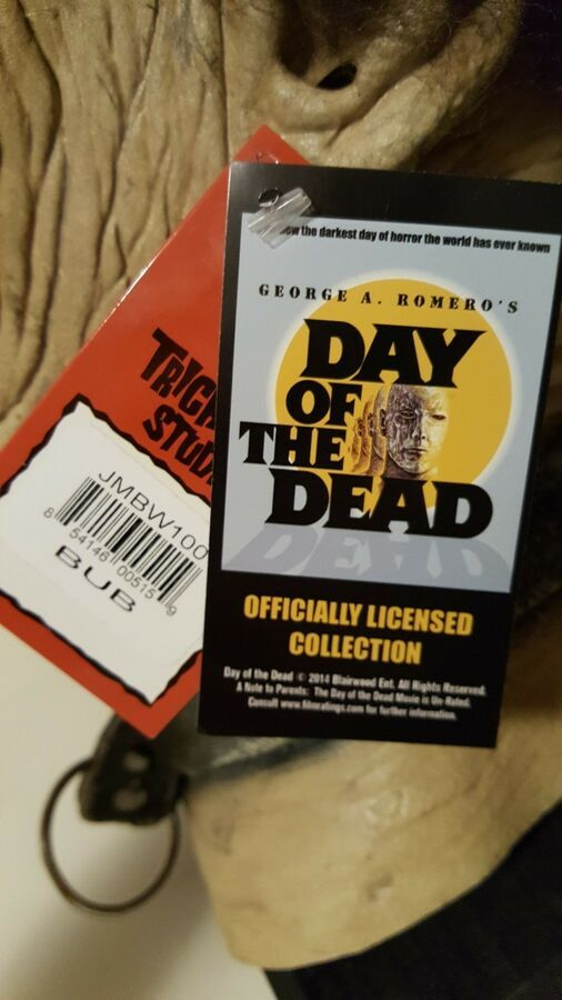 Day of the Dead Zombie Bub Mask George Romero/'s Blairwood Entertainment