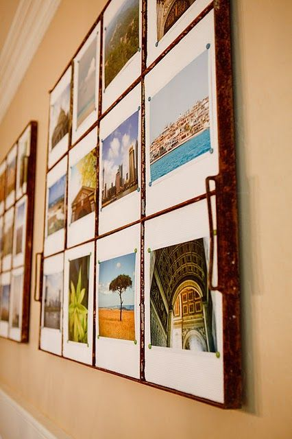 great way to display scenery pictures from travels!
