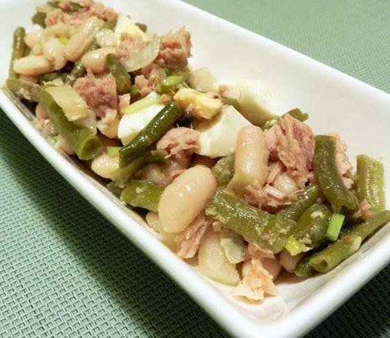 Ensalada de alubias y habichuelas divina cocina - Ensalada de alubias ...