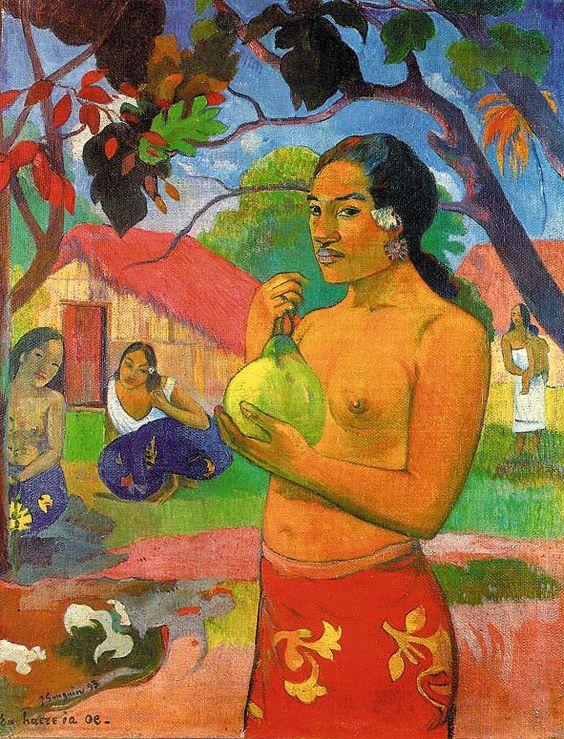 Eu haire ia oe de Gauguin