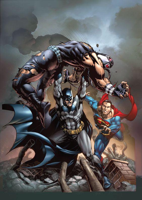 Batman want to revenge Bane and Superman stop batman don't kill.