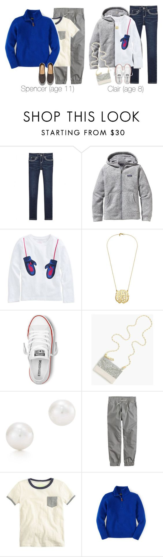 """""""A Tuesday In December: Cleaning House and IHOP"""" by teamboby ❤ liked on Polyvore featuring Patagonia, Converse, J.Crew, Tiffany & Co., TOMS, Girls, boys and kids"""