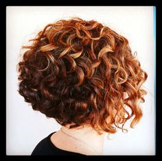 Very Cute Cut Perm And Color Curly Permshort Hairnatural Hairstylescurly