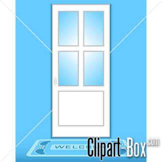 CLIPART CLOSED DOOR