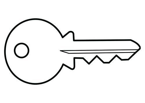 Resultado De Imagen Para Dibujos De Una Llave Para Imprimir Llave Dibujo Dibujos Imprimir Sobres