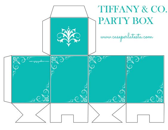 Tiffany & Co. Party box freebie