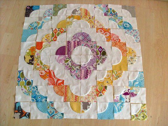 Accuquilt Drunkard's Path Tutorial  I love this pattern!