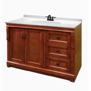 Bathroom vanities drawers and bathroom on pinterest - Kraftmaid bathroom cabinets catalog ...