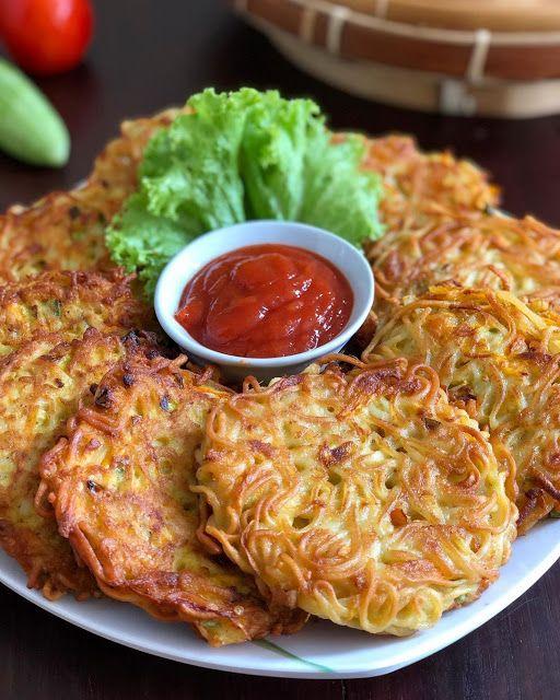 Resep Dadar Mie Renyah Enak Dan Mengenyangkan Resep Spesial Di 2020 Resep Masakan Makanan Ringan Sehat Resep