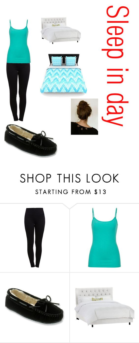 """""""In the bed all day today"""" by niaevans484 ❤ liked on Polyvore featuring Pieces, maurices and Minnetonka"""