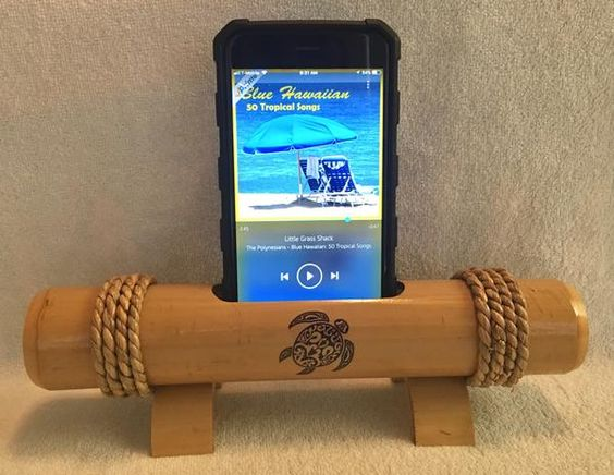 Native Speek - Bamboo Cell Phone Speaker/Amplifier – Native Way Products LLC