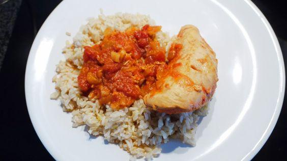 Polskie South Beach: Pikantny kurczak w pomidorach