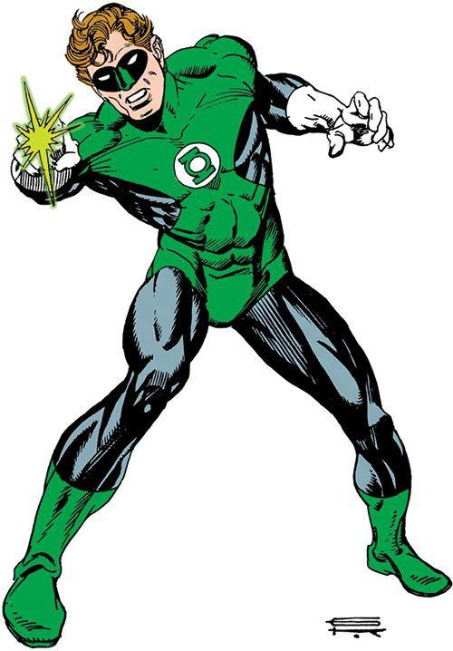 The Green Lantern DC Comics Superhero Decal Sticker Colorful