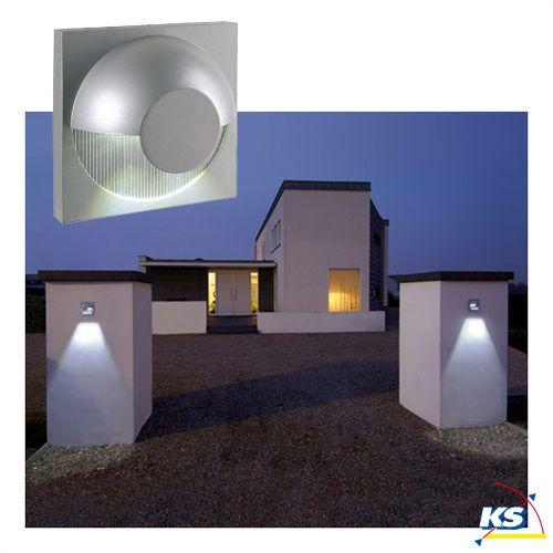 Wandleuchte DACU LED für Innen und Außen