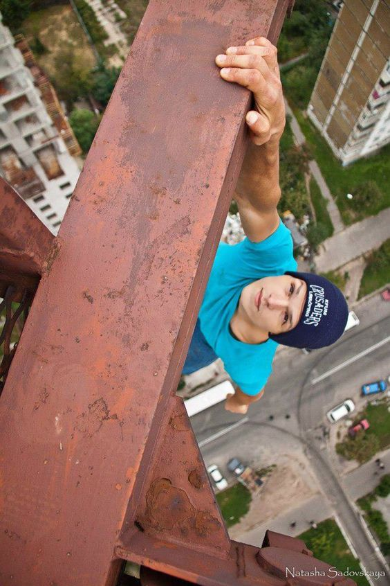 Scared of Heights? Don't look at these pictures if you are!