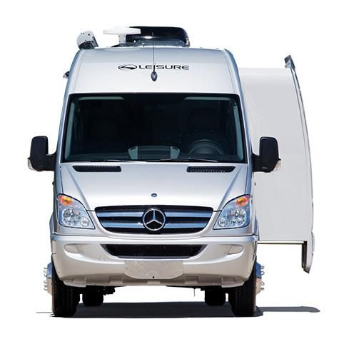 Leisure travel vans class b motorhome with a lateral slide for Mercedes benz sprinter luxury motorhome rv