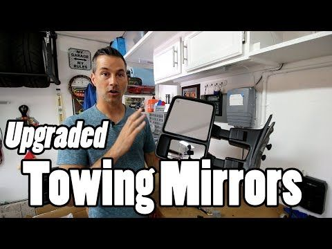 Yitamotor Towing Mirrors 7 3 Powerstroke Youtube Towing Mirrors Powerstroke Towing