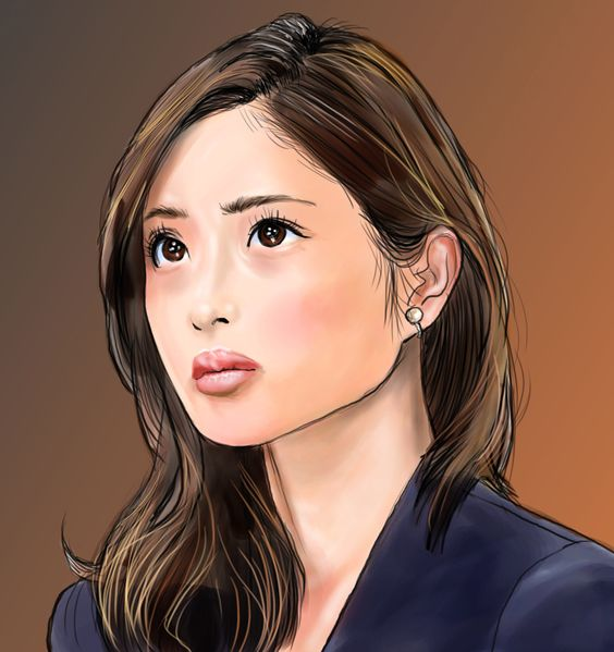 石原さとみさん #似顔絵 #イラスト #女優 #シンゴジラ #石原さとみ #caricature #illustration #actress #satomiishihara #drawing