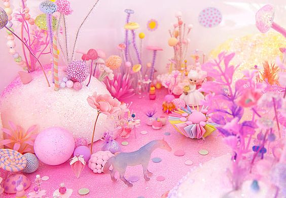 お砂糖でゆめかわいいを作るアーティスト。pip&popの世界観にきゅんっ♡* (2ページ目)|MERY [メリー]