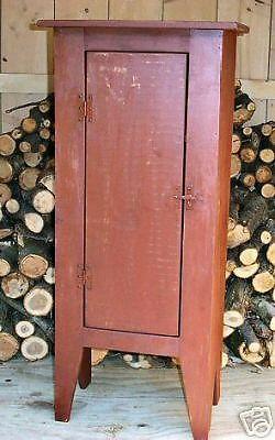 Primitive Handcrafted Cupboard (cabot) #primitivecountry