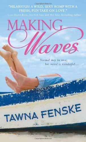 I LOVE LOVE LOVE this author. Making Waves by Tawna Fenske, http://www.amazon.com/dp/140225721X/ref=cm_sw_r_pi_dp_ApRQpb18Z78MF