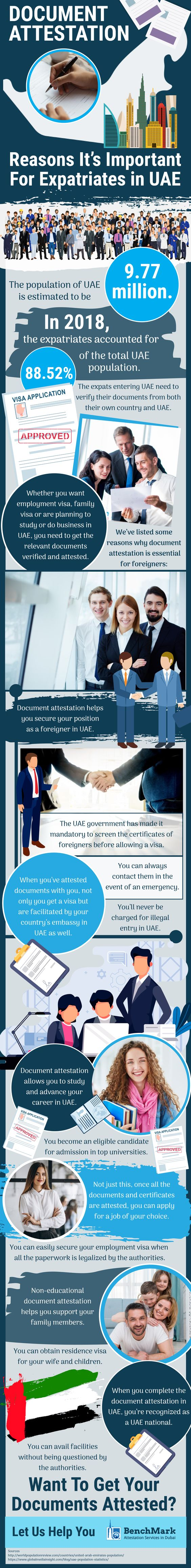 Document Attestation – Reasons It's Important For Expatriates In UAE – Benchmark Attestation Services