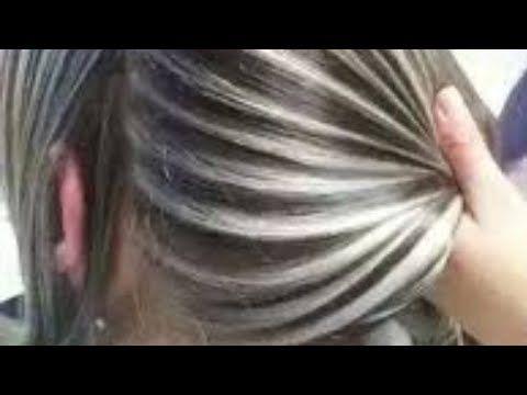 وضع خصل الشعر أو الميشات بطريقه سهلة و بسيطه كالمحترفين للمبتدئات Youtube Flower Template Hair Gym Workouts