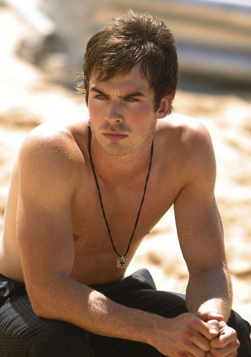 Ian Somerhalder on lost