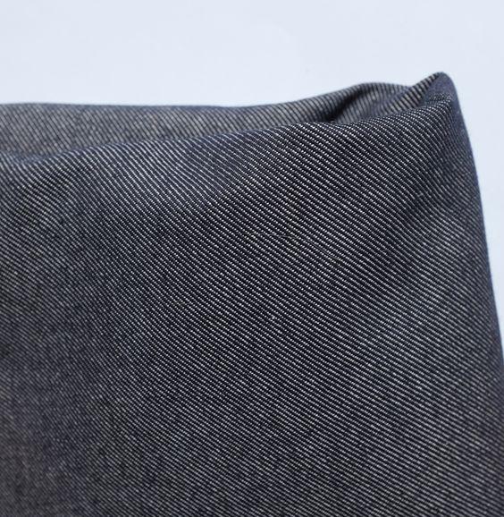 Jeans bleu en coton biologique, fabriqué en France : Tissus Habillement, Déco par lacabaneducailloux