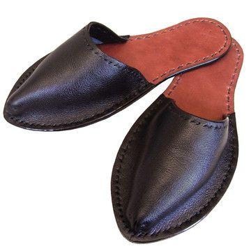 alfred stadler leather slippers.