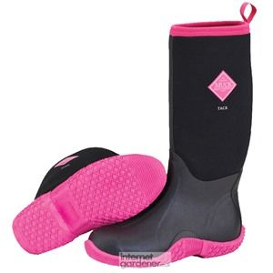 Muck Boot Classic Tack Black & Hot Pink | Warm, Gifts and Gray