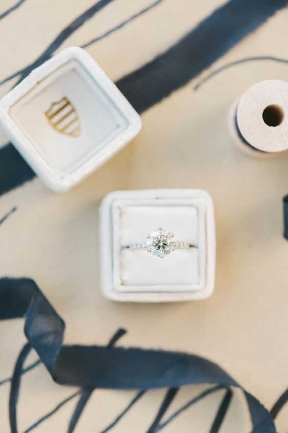 Classic solitaire engagement ring: Choosing an #engagementring for the one you love :