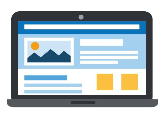 Choose a template for your website