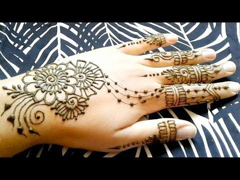 Pin By Soso Stare On Easy Mehndi Designs Henna Designs Mehndi Designs Hand Henna