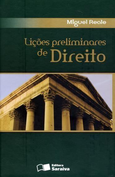 Lições Preliminares de Direito - 27ª Ed. 2009