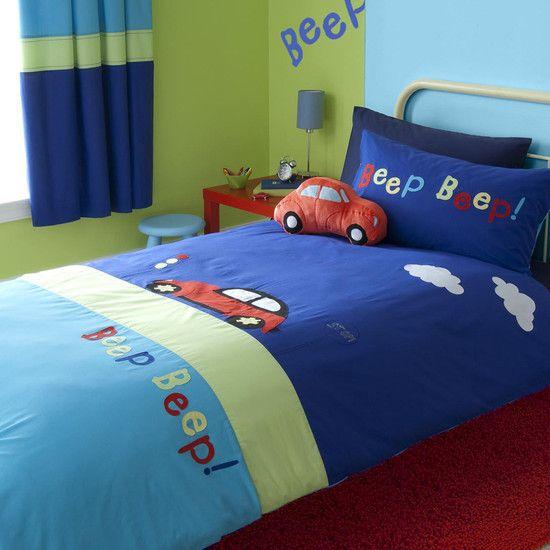 Nautical Bedding Dunelm: Beep Bed Linen Collection